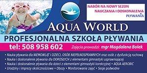 Aqua World Profesjonalna Szkoła Pływania Magdalena Bolek