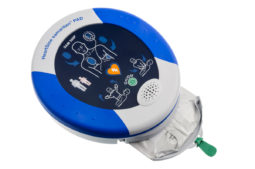 Defibrylator AED na naszej pływalni!